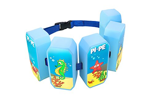 PI-PE Schwimmgürtel für Kinder, Blau, One Size