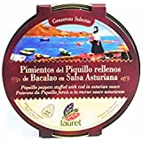 Piquillos con Bacalao en Salsa Asturiana