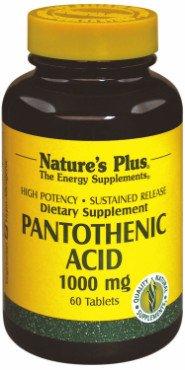Pantothenic Acid 1000 mg (Pantothensäure) 60 Tabl. S/R NP