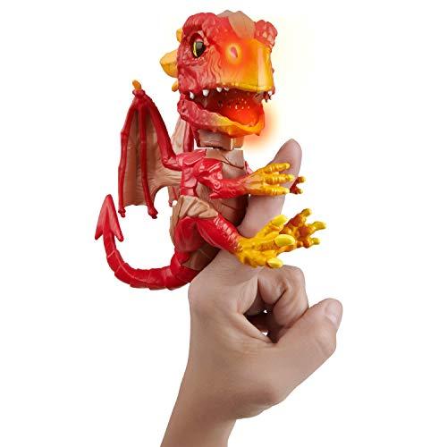 UNTAMED 3861 Fingerlings Dragon Wildfire, Rot