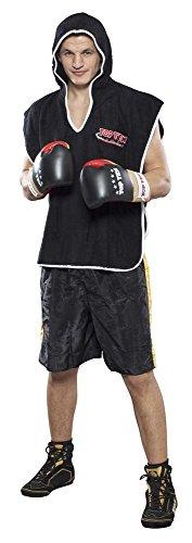 Budoland Boxer Umhang schwarz