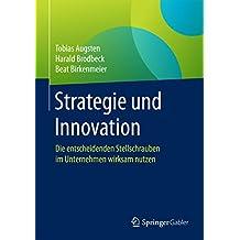 Strategie und Innovation: Die entscheidenden Stellschrauben im Unternehmen wirksam nutzen