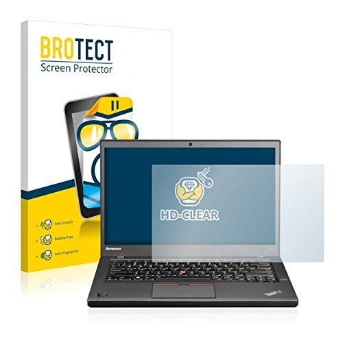 BROTECT HD Clear Bildschirmschutz Schutzfolie für Lenovo ThinkPad T450s (Non-Touch) (kristallklar, extrem Kratzfest, schmutzabweisend)