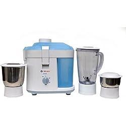 (Certified REFURBISHED) Bajaj JX 10 450-Watt Mixer Grinder (White)