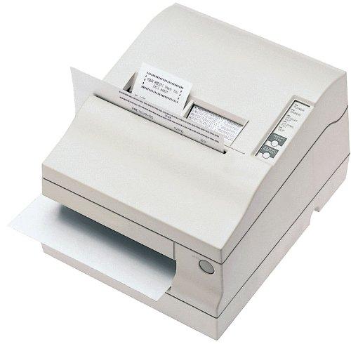 Epson Drucker Cutter (Epson TM-U950II , Mehrstationen-Drucker für Bons, Belege und Kassenjournale, RS232 (Seriell), Cutter, weiß, C31C151285)
