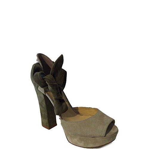 Twin-set Simona Barbieri CP3RC Sandalo Donna 100% Camoscio nd 36