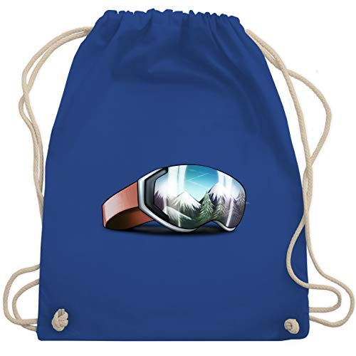 Wintersport - Skibrille - Unisize - Royalblau - WM110 - Turnbeutel & Gym Bag