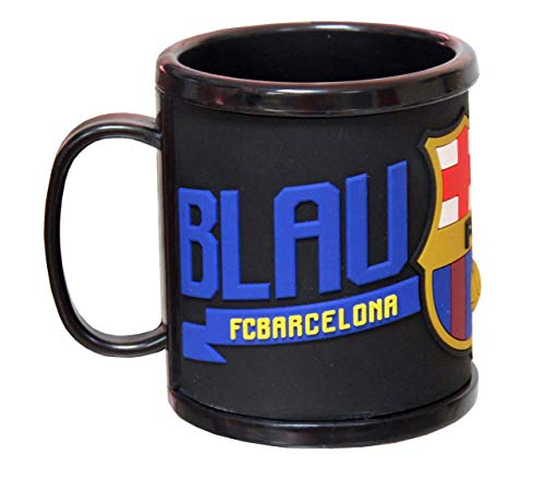 C Y P FC Barcelona Taza de Rubber, 0, 0 Inches