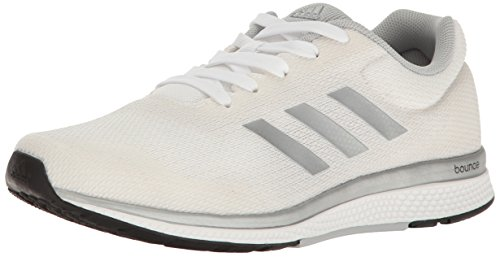 adidas Performance Women's Mana Bounce 2W Aramis Running Shoe, White/Metallic/Silver/Black, 9.5 M US