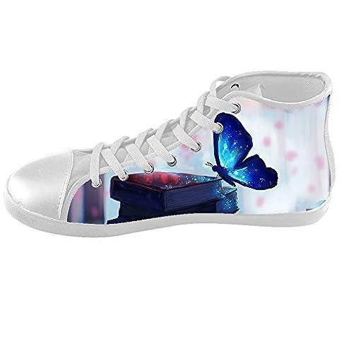 Custom Farbe fliegender Schmetterling Kids Canvas shoes Schuhe Footwear Sneakers shoes Schuhe