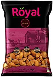Royal Dry Fruits California Almond (1 Kg)