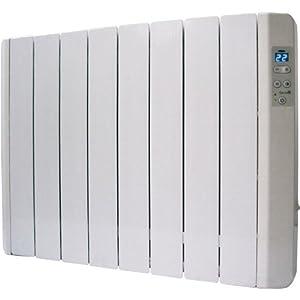 Garza RIIR-50 Emisor Térmico Termo Fluido 4 Elementos, 500 W, Aluminio Inyectado, Blanco