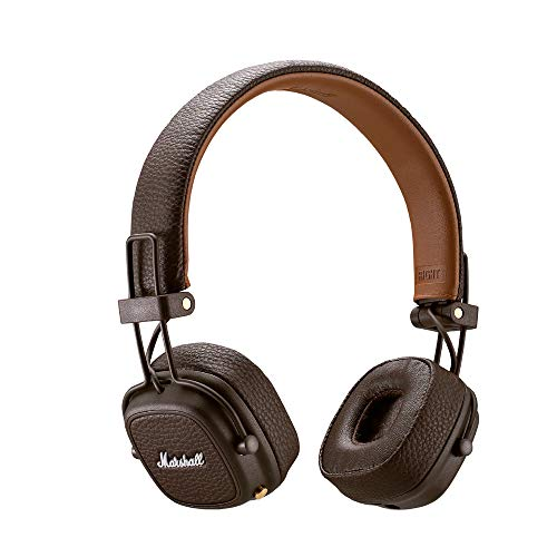 Marshall Major III Bluetooth Wireless On-Ear Headphones (Brown) Image 3