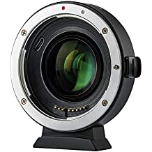 Viltrox EF-EOS M2 mise au point automatique 0,71 X Réducteur de focale adaptateur de monture d'objectif pour Canon EF monture d'objectif pour Canon EOS-M M2 M3 M5 M6 M10 M50 M100 Caméra