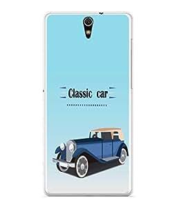 PrintVisa Designer Back Case Cover for Sony Xperia C5 Ultra Dual :: Sony Xperia C5 E5533 E5563 (Old Model Classic Car Four Wheeler Automobile )