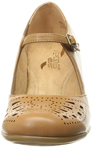 De Mary Papel Leder Rund Aerosoles Tan Destino Janes HR57vwq6