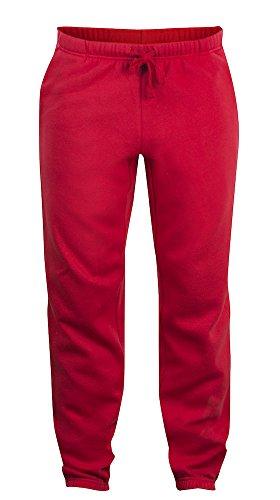 Clique Clothing -  Pantaloni sportivi  - Joggers  - Uomo Rosso