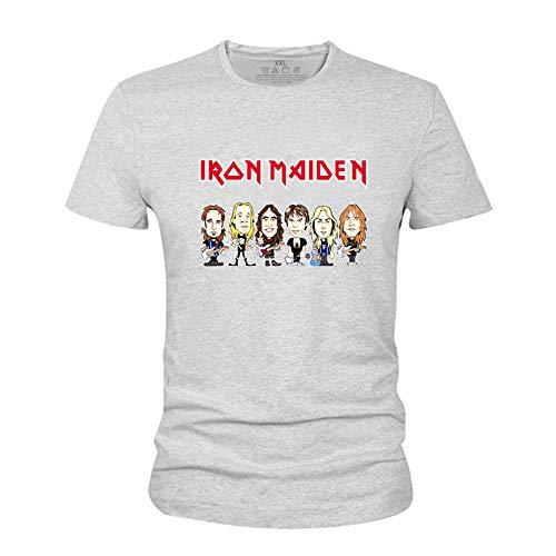 Iron Maiden Camiseta Patrón clásico de Dibujos Animados de...