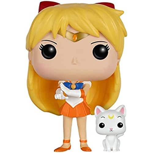 figuras kawaii Funko - Figura Pop! Sailor Moon: Sailor Venus & Artemis