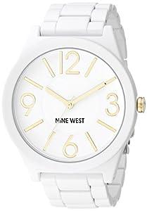 Nine West Mujer Reloj De Cuarzo Con Esfera Analógica Gris y Gris Aleación De Pulsera NW/1678gyrg
