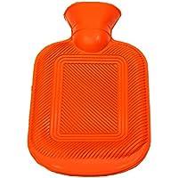 Wärmflasche aus Gummi mit Lamellen ca. 450 ml orange preisvergleich bei billige-tabletten.eu