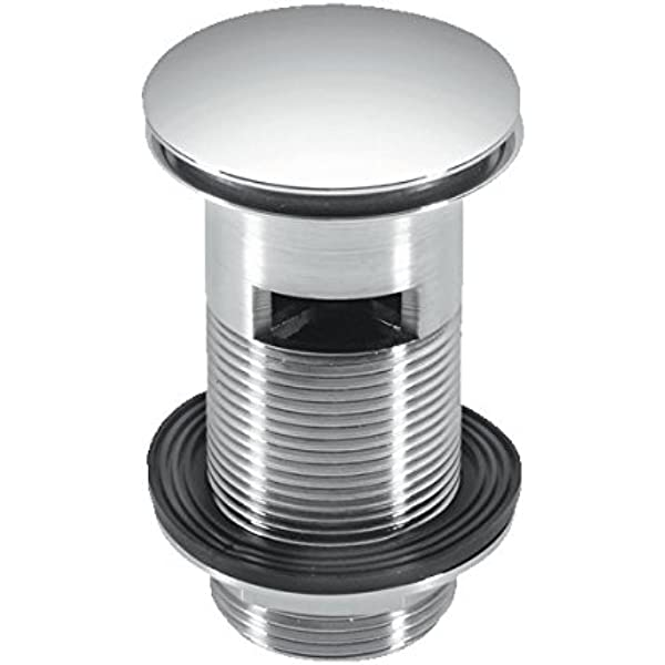 """McAlpine  1¼/"""" 60mm Centre Pin Basin Waste with Plug BSW1P"""