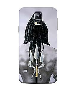 Digiarts Designer Back Case Cover for Samsung Galaxy S5, Samsung Galaxy S5 G900I, Samsung Galaxy S5 G900A G900F G900I G900M G900T G900W8 G900K (God Goddess Temple Devine Maa)