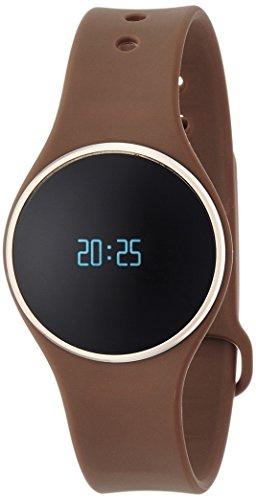 MyKronoz ZeCircle - relojes inteligentes (55 mAh, 25,4 cm, 3,4 cm, 1 cm) Marrón