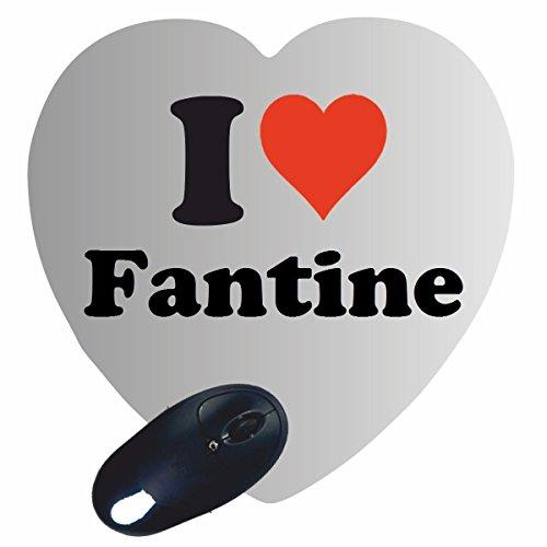 Fantine (Exklusive Geschenkidee: Herz Mauspad