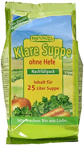 Rapunzel Klare Suppe ohne Hefe Nachfüllpack (1 x 500 g) - Bio