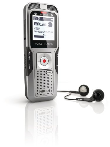 Professional 22% Zähne (Philips DVT 3000 Digitaler Rekorder mit AutoAdjust 2Mic-Stereoaufnahme, 2 GB, grau)