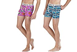 The Boxer Store set of 2 Trunks Sea Master & Hipster (XX-Large)