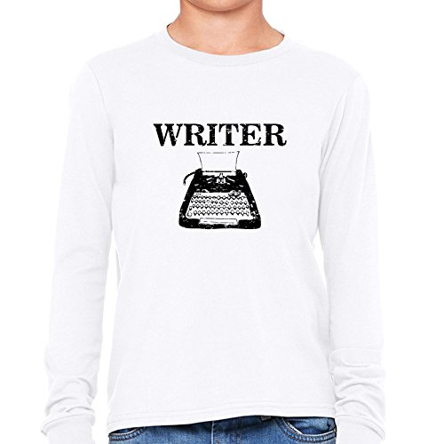 Writer Classic Typewriter Boy's Long Sleeve T-Shirt