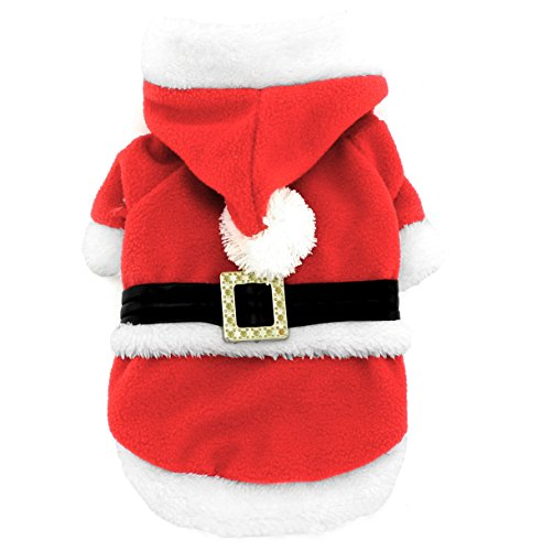 smalllee Lucky Store Santa Claus Weihnachten Kostüm mit Fleece für kleine (Dress Up Ideen Boy)