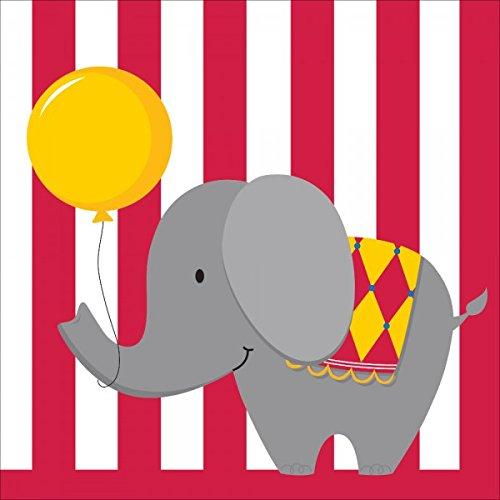 Servietten Kleiner Zirkus