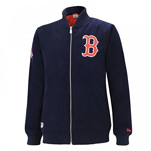 New Era Herren Jacken / Bomberjacke Team Melton Boston Red Sox blau XL