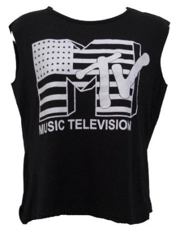 ladies-mtv-music-television-print-sleeveless-crop-top-women-cropped-t-shirt-8-14-m-l-12-14-mtv-black