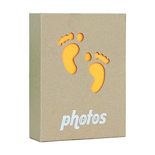 Álbum fotos, 100 bolsillos, 10 x 15 cm, marco almacenamiento