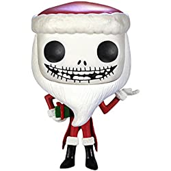 FUNKO Pop! Disney: Nightmare Before Christmas - Santa Jack Skellington Collectible figure Nightmare Before Christmas - figuras de acción y de colección (Collectible figure, Dibujos animados, Nightmare Before Christmas, Multicolor, Vinilo, Caja)