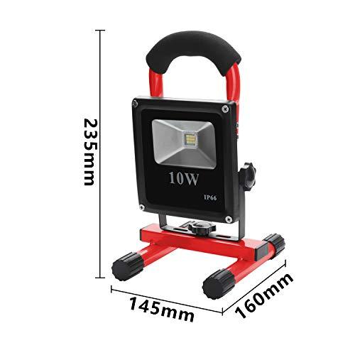Zoom IMG-2 wolketon portatile led 10w bianca