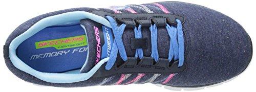 Skechers - Flex Appeal - Miracle Work, Scarpe sportive Donna Navy Multi