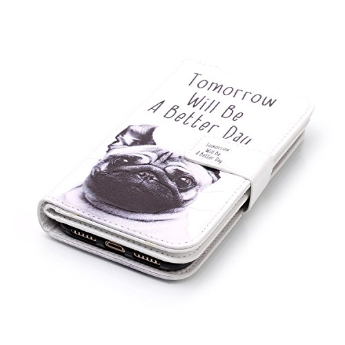 Protective Case Cover for iPhone X,iPhone X Coque PU Leather,iPhone X Neo Case,Hpory élégant Retro PU Cuir Cover Case Book Style Folio Flip Up Stand Fonction Support PU Leather Walllet Case with Credi 28#
