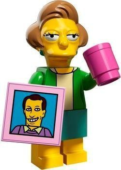 lego-simpsons-series-2-pick-your-figure-71009-mrs-edna-krabappel-by-lego