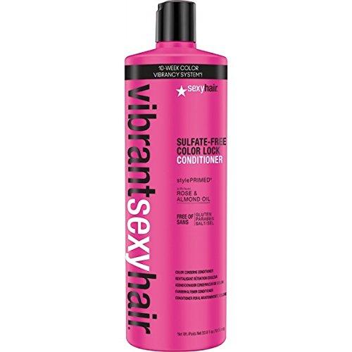 sexyhair Vibrant Color Lock Conditioner 1000ml per una protezione ottimale colori
