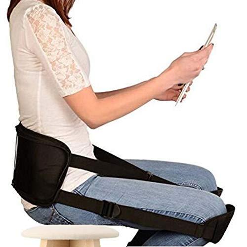 LJXiioo Apoyo ergonómico para la Espalda Baja - Ayuda a Corregir la Postura y aliviar la ciática