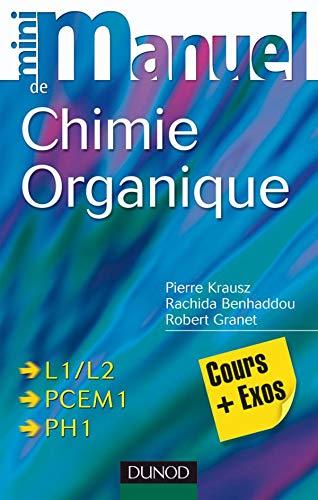 Mini manuel de Chimie organique - Cours et QCM/QROC: Cours et QCM/QROC