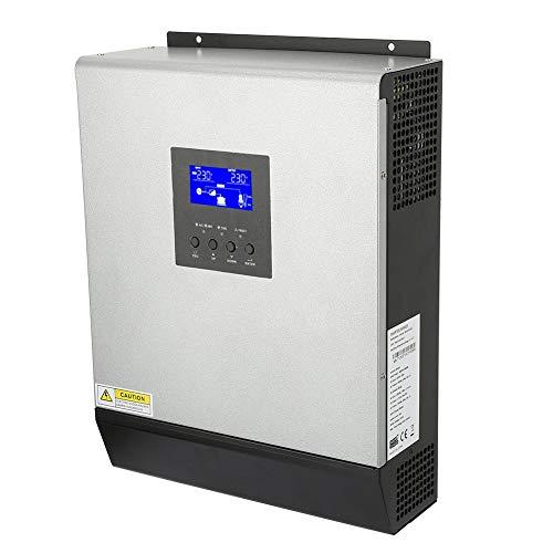 Solarladeregler 24V 2400W, Hybrid-Sinus-Wechselrichter 2400W 50A 3KVA Laderegler