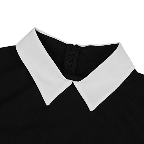 Balai -  Vestito  - linea ad a - Basic - Classico  - Maniche corte  - Donna b