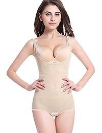 Aivtalk Lingerie Sculptante Combinaisons Body Gainant Maintien Femme  Amincissante Minceur Shapewear Corset Push-up Slim 1702473d379