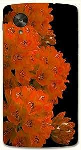 Marvelous multicolor printed protective REBEL mobile back cover for LG Nexus 5 / Google Nexus 5 D.No.N-L-16944-NX5